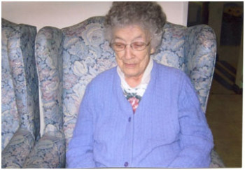Cora Proctor Quimby at age 104
