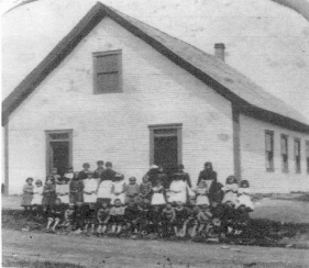 In 1896 the town raised $500 for the addition of the second floor to the No. 4 West School building.