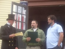 Ray Foster, Michael Murphy, II, and Charles Ingalls